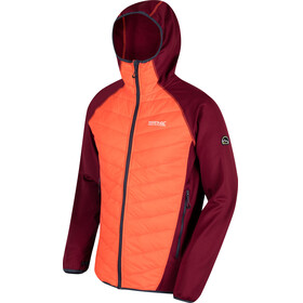 Regatta Andreson II Hybrid Jacket Men Spiced Mulberry/Magma